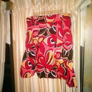 New Colorful Notations Skirt